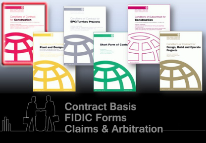 Fidic Standard Forms Of Contracts Maheshspeak